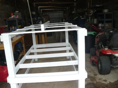 Add the Cross Braces for the Floor and Top