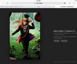 Mad Hatter Spool Sash
