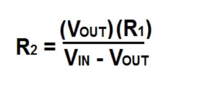Maths to Calculate Resistors Required