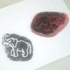 Rubber Floor Mat Block Prints