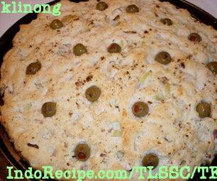 Focaccia With Manzanilla Olives