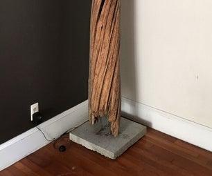 Hide a Speaker in a Log