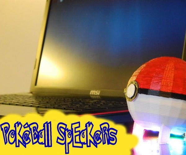 Pokeball Speakers