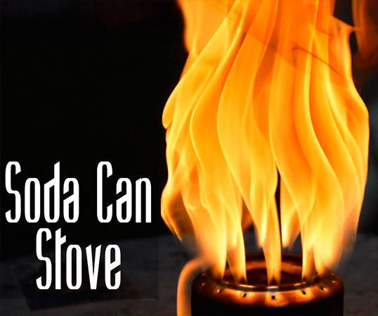 How to Make an Aluminum Can Stove