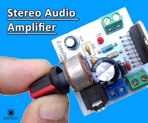 How to Use TDA7297 Amplifier IC in Stereo Audio Amplifier Circuit?
