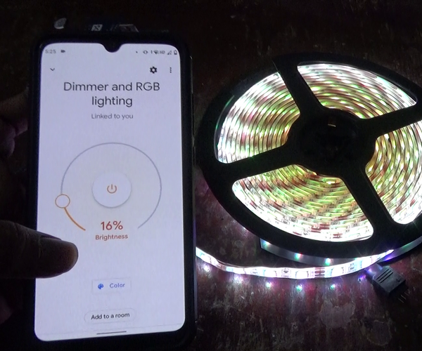 Make Your Own Smart Light Strip Enabled With Amazon Alexa and Google Assistant Control