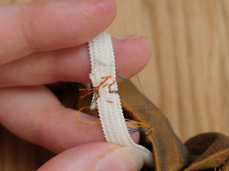 Sew Elastic Together