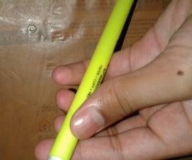 Secret Chit Inside the Pen for Exam.