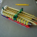 double barreled bolt-action knex weapon