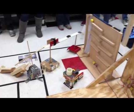 集团Rube Goldberg机器项目