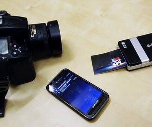 Eye-Fi to Bluetooth Bridge: Direct Wireless Print With an Eye-Fi, Polariod Pogo and an Android Phone