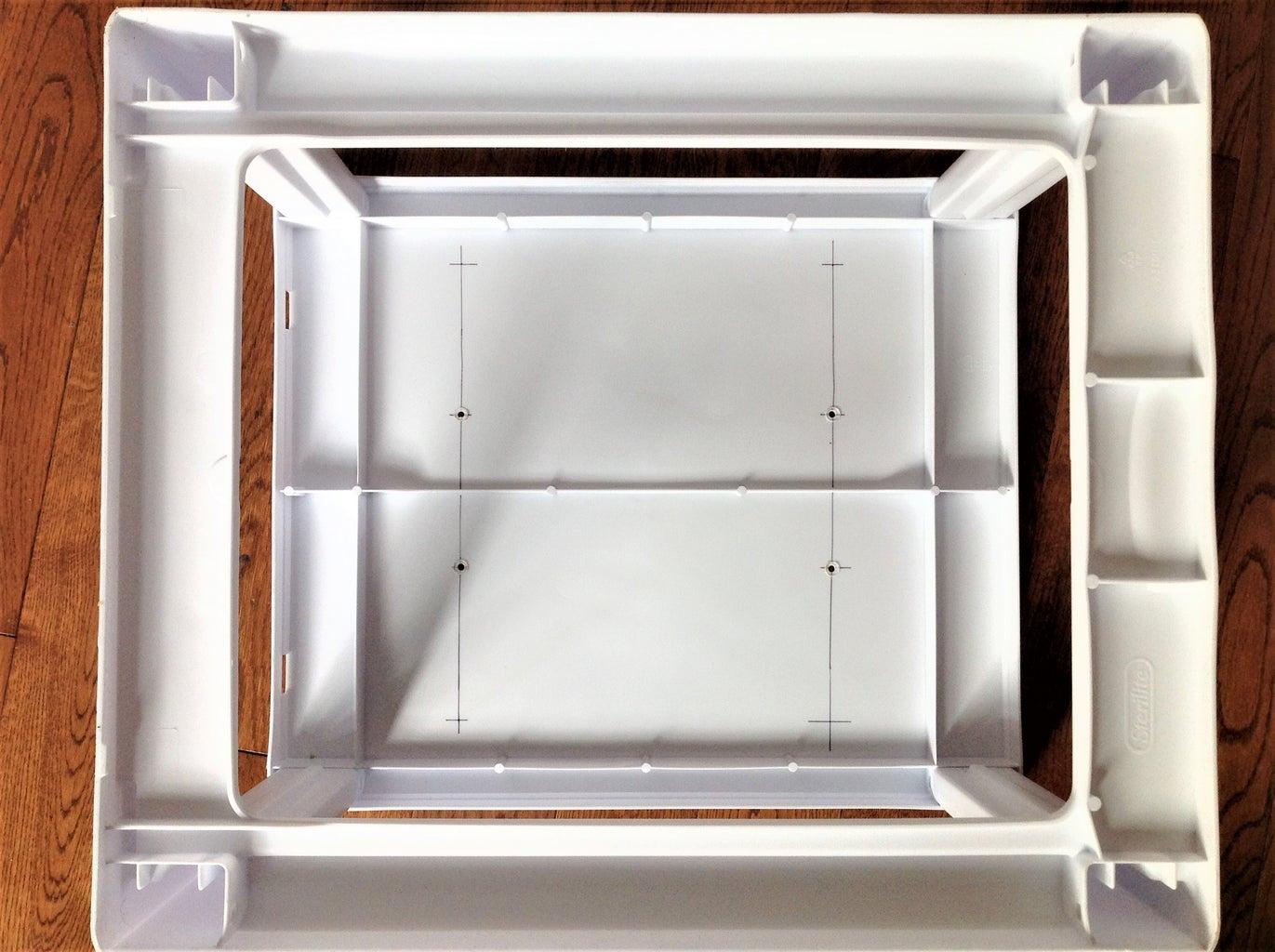 Install Grow Lights on Box Lid