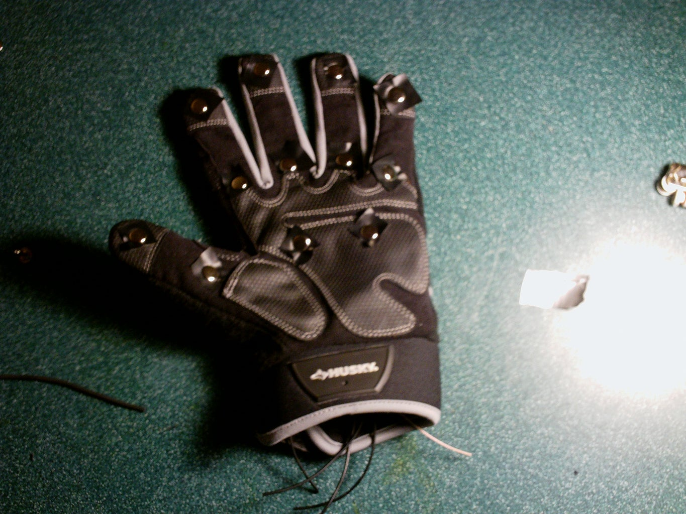 Wire the Outside Glove
