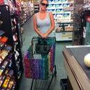 Re-purposed Grocery Basket