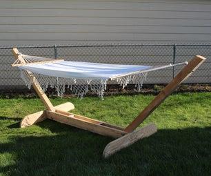 简洁典雅的吊床架