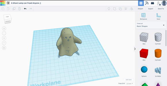 Scare Your Parents and Have Some Lockdown Fun- a 3D Designed Ghost
