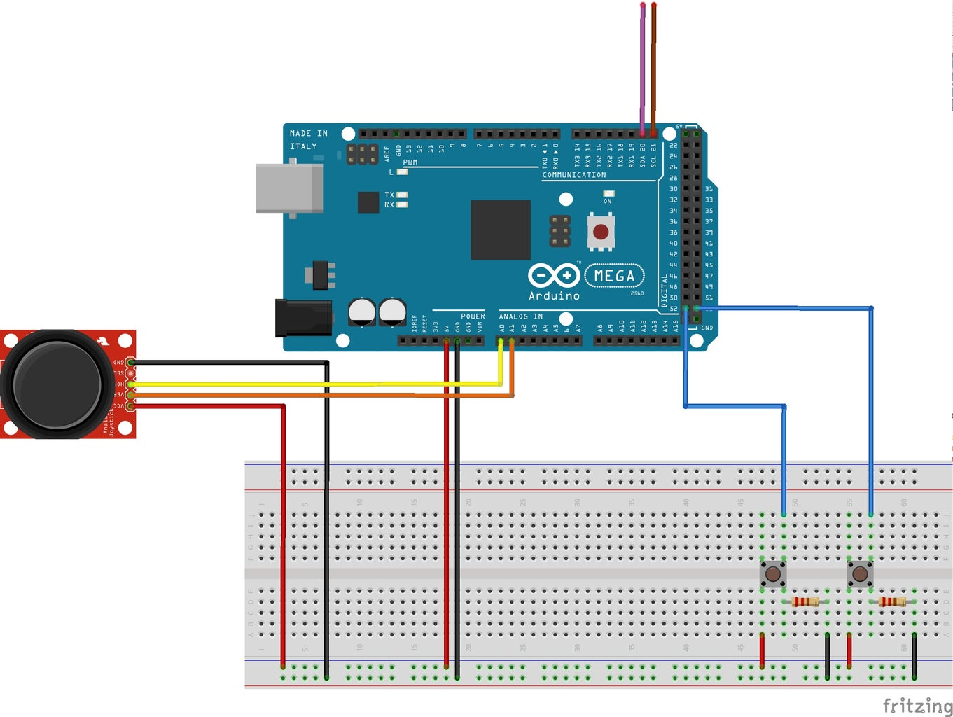 Connecting the Sensors to the Raspberry Pi