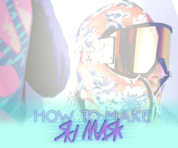 How to Make Ski Mask