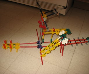 MINI KNEX GAME MACHINE (my First Instructable Ever)!