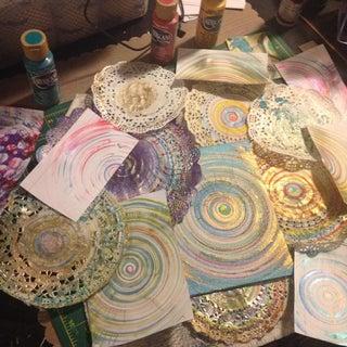 Spin Art Machine DIY