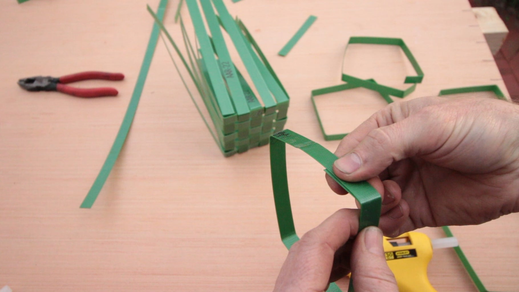 Make Square Hoops for the Sides