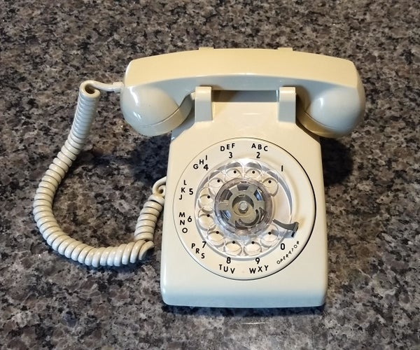 Raspberry Pi Rotary Phone Case