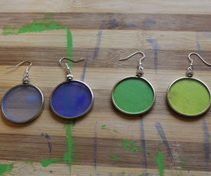 Thermocolor (Color-Change) Earrings
