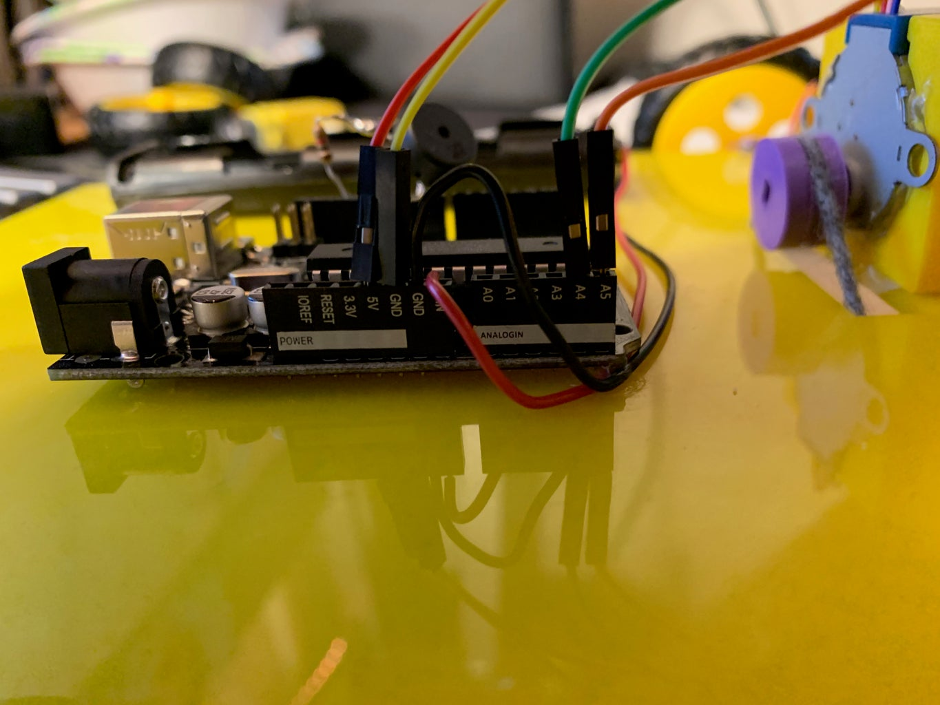 Wiring the Components
