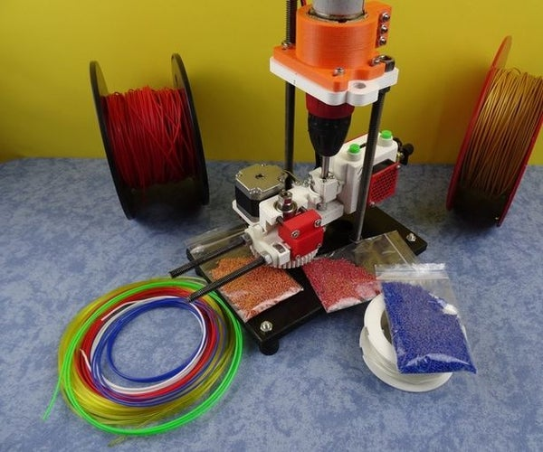 3D Printed Open Source Multi Material Cutter&Pelletizer : SHRED-Buddy3D