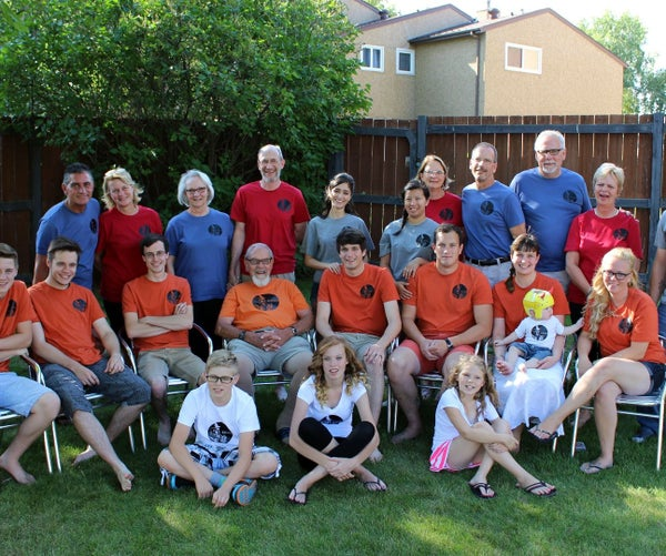 Family Reunion T-shirts With Iron-on Vinyl