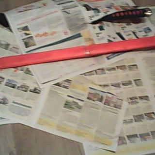 Paper Samurai Sword