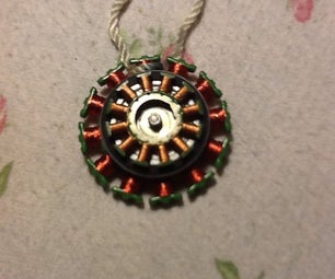 E Scrap Necklace