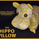 Hippo Pillow - Sewing Project for Beginners