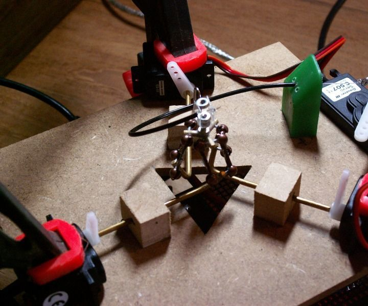 How to Make a Tiny Delta Parallel Robot