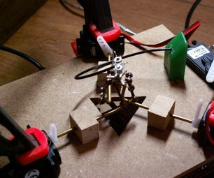 How to Make a Tiny Delta Robot
