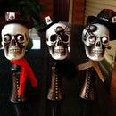 DIY Halloween Skull Men