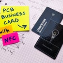 PCB Business Card With NFC