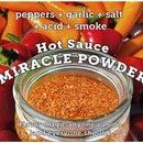 Miracle Powder: Peppers, Garlic, Salt, Acid, Smoke