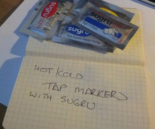 Sugru Hot / Cold Tap Markers