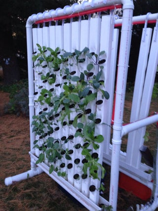 Vertical Hydroponic Farm 13 Steps With Pictures Instructables