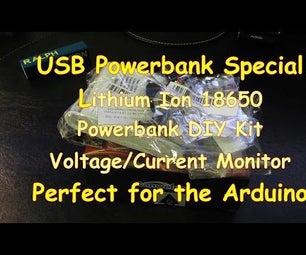 #6 USB Powerbank Special - DIY Kit With 18650 Li-Ion Batteries Part 1