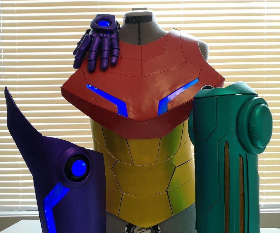 Samus Aran: Metroid Prime Cosplay Tutorial