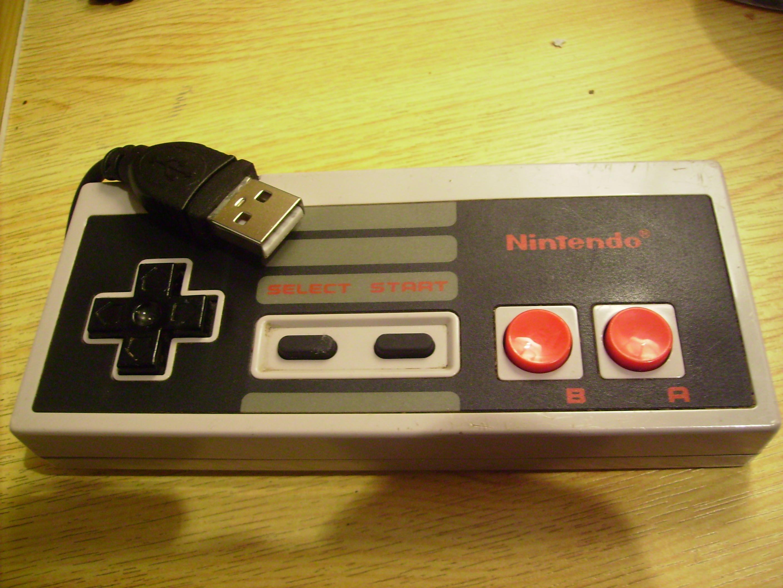 NES controller Flash Drive USB