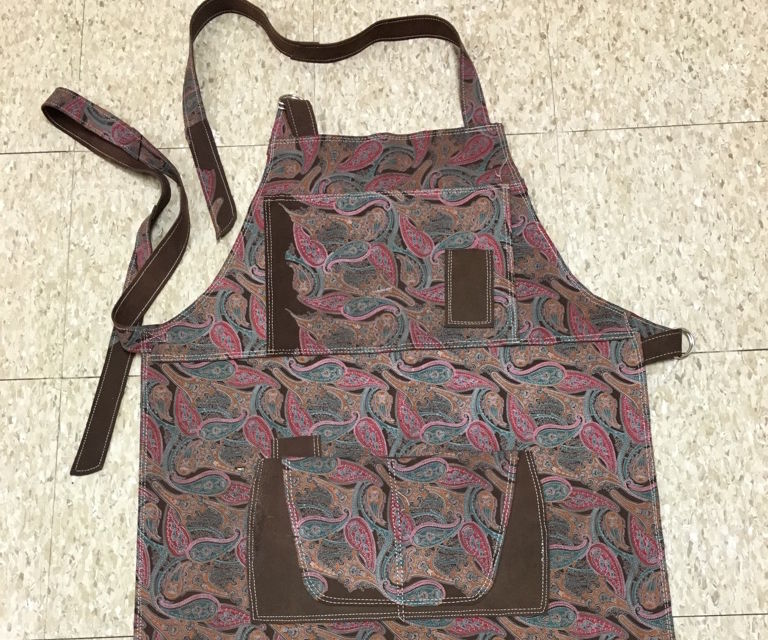 How to Make a Craftswomen's Leather Utility Apron