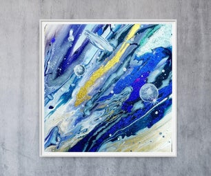 Fluid Art - Cosmos