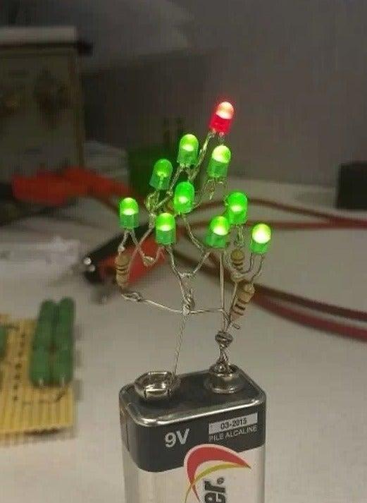 Dorm Room Christmas Tree