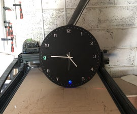 Supersize LED/Analog Clock With a Twist.