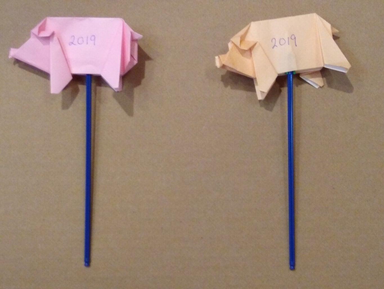 Make Origami Stick Puppets