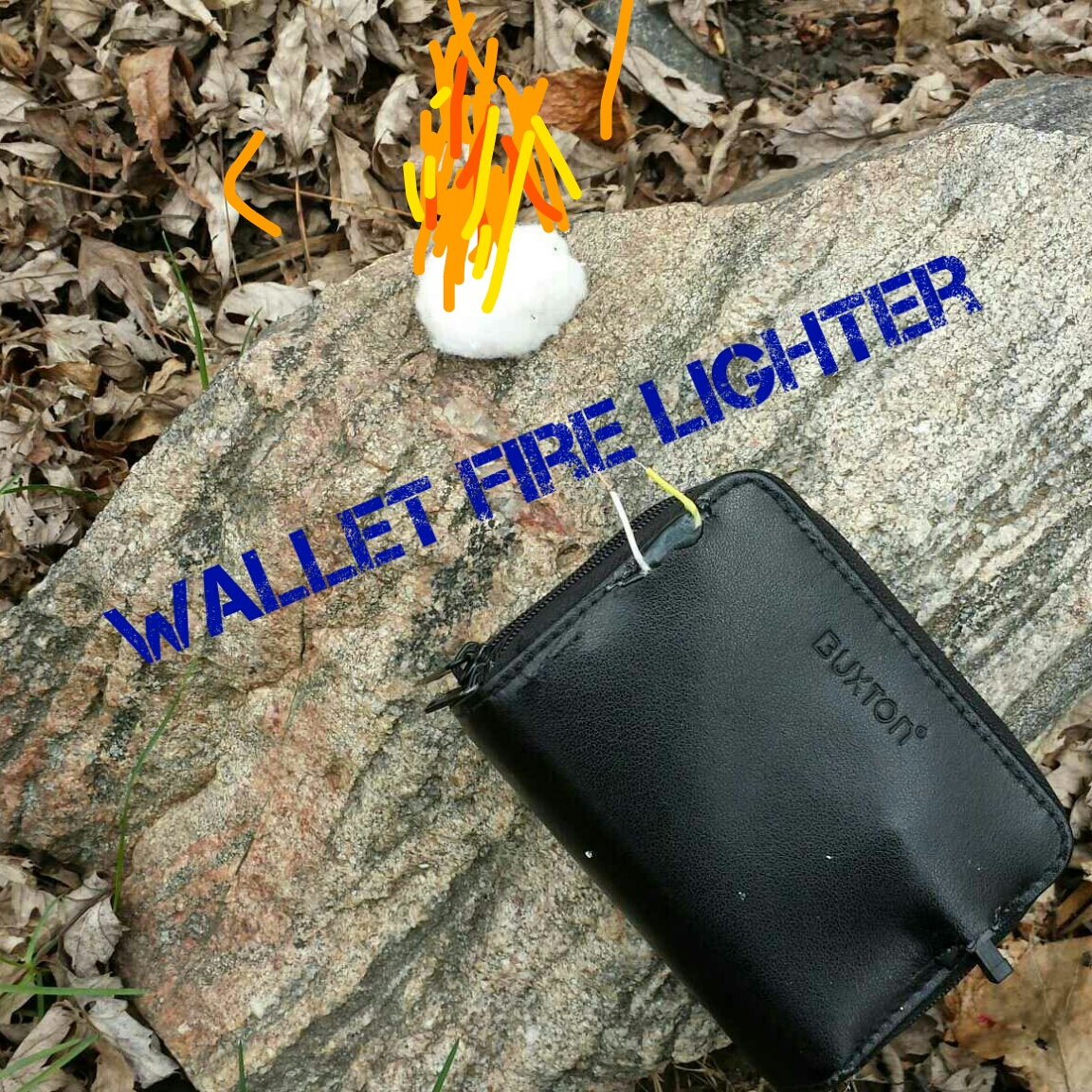 wallet fire lighter