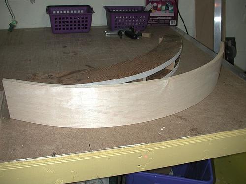 External Mold Veneer Bending